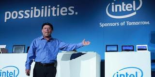 Intel berencana memamerkan tablet-tablet yang memakai chip