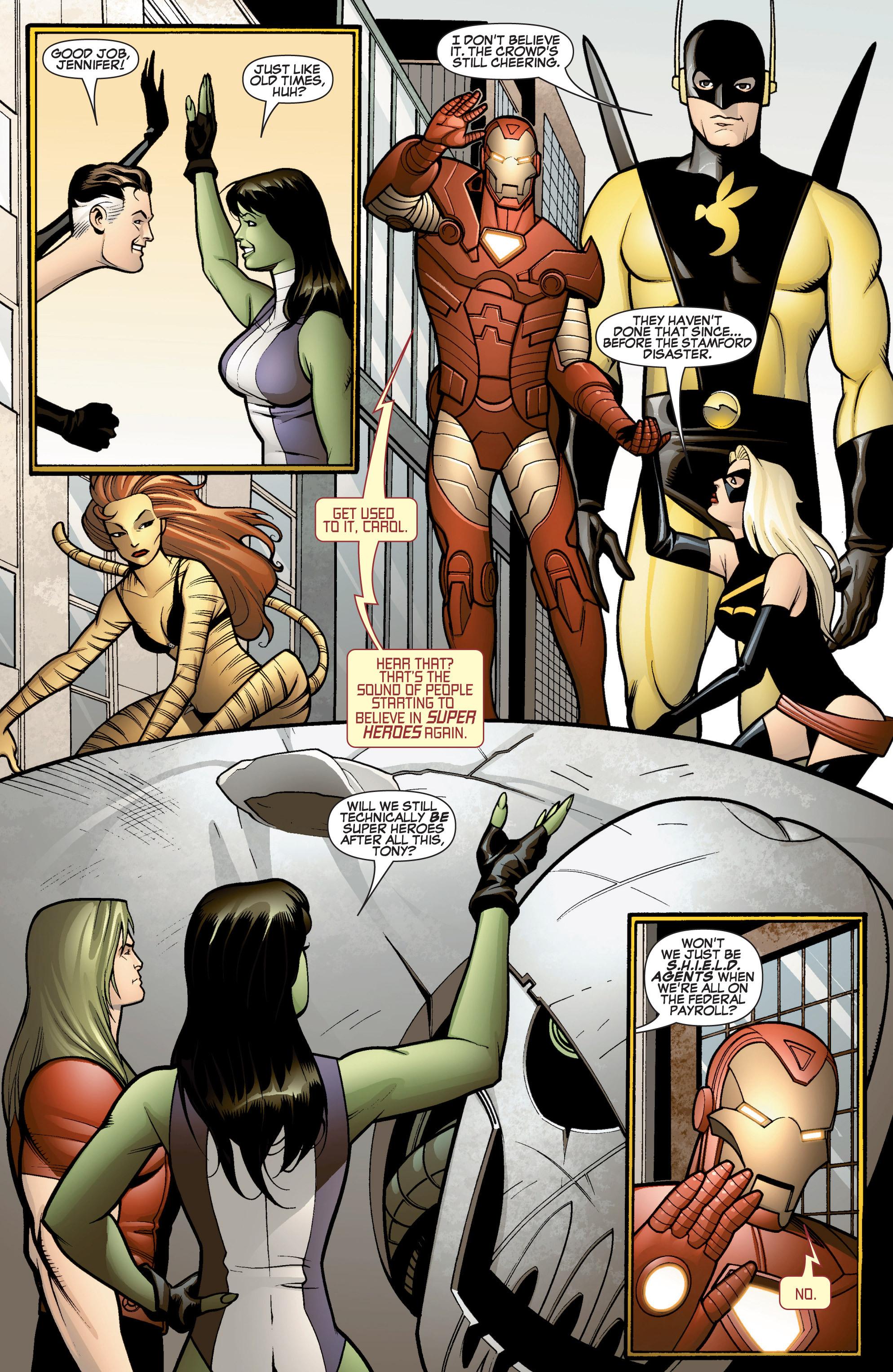Read online She-Hulk (2005) comic -  Issue #15 - 4