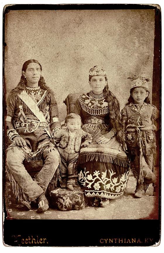 Historic Iroquois and Wabanaki Beadwork Iroquois Medicine Men