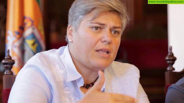 Noelia García recuerda al Cabildo que los vecinos de Las Manchas llevan dos años esperando una solución a las escorrentías generadas tras el incendio del año 2016