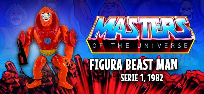 Masters del universo: Beast Man Mattel 1982