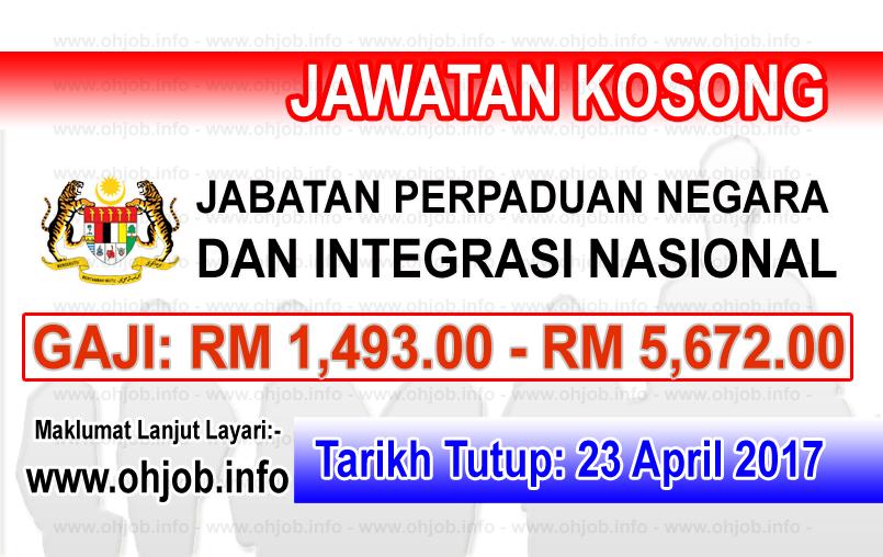 Jawatan Kerja Kosong JPNIN - Jabatan Perpaduan Negara dan Integrasi Nasional logo www.ohjob.info april 2017