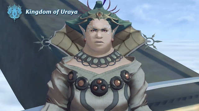 Xenoblade Chronicles 2 Kingdom of Uraya woman queen