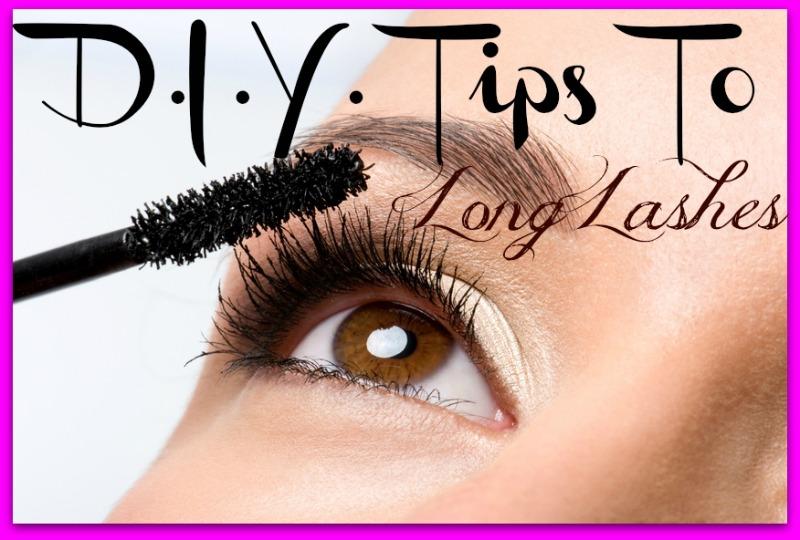 Diy Tips For Long Eyelashes Barbies Beauty Bits