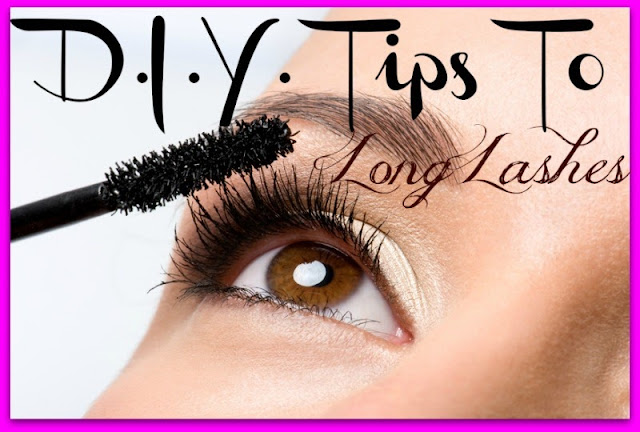 DIY Tips For Long Eyelashes by barbies beauty bits