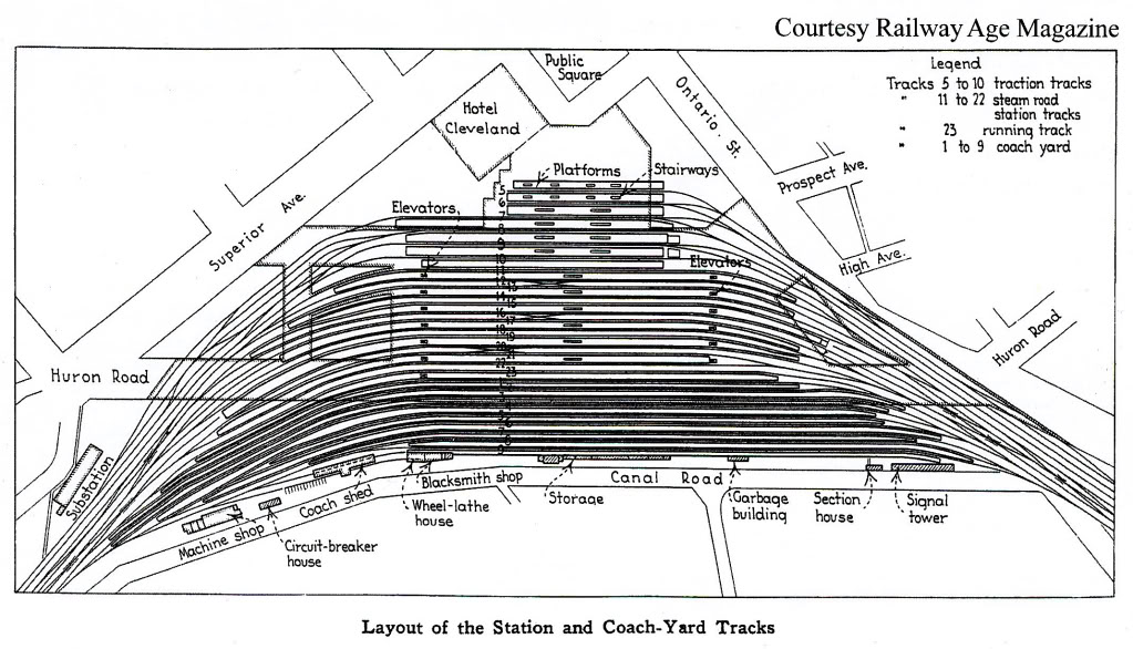 Crooked River Rails: How to model Cleveland Union Terminal