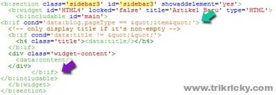 Tag Kondisional Widget Artikel Terbaru Hanya dihalaman Postingan Penuh