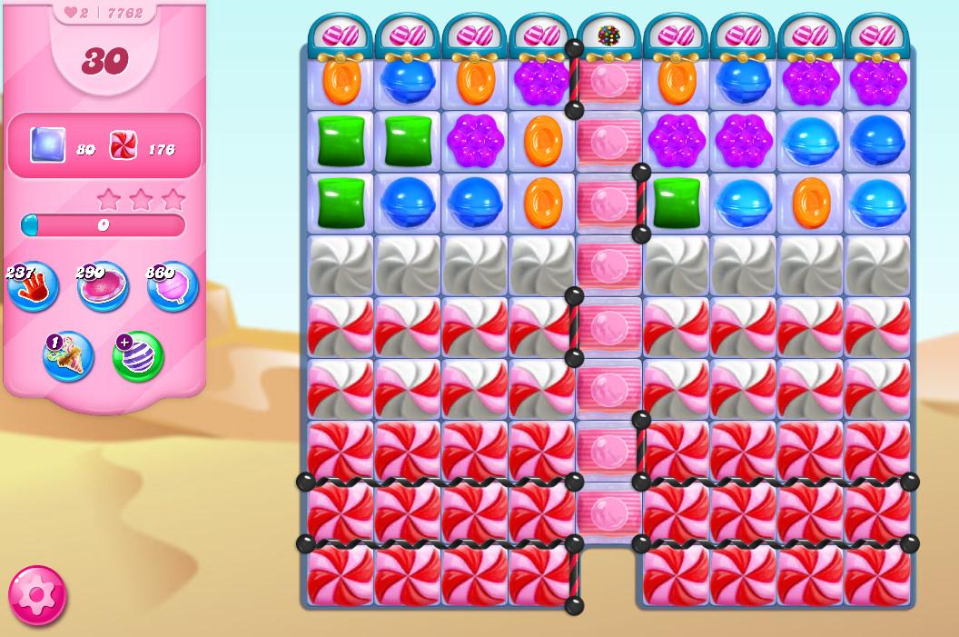 Candy Crush Saga level 7762