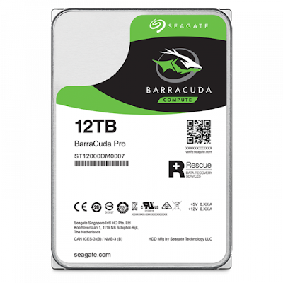 Seagate launches BarraCuda Pro 12TB and Seagate Ironwolf Pro 12TB