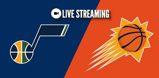 LIVE STREAMING: Utah Jazz vs Phoenix Suns 2018-2019 NBA Season