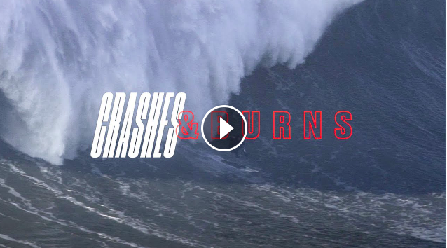 The Greatest Wipeouts From Nazaré SURFER Crashes and Burns