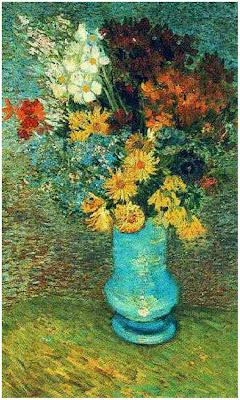 Van Gogh Vase Flowers