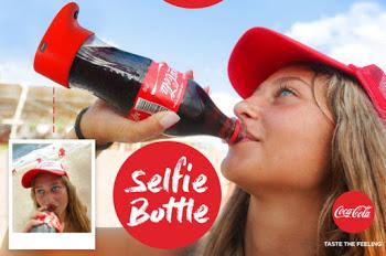 Checkout The Coca cola Selfie Bottle