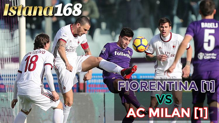 Fiorentina [1] - [1] AC Milan : Milan Masih Belum Bisa ...