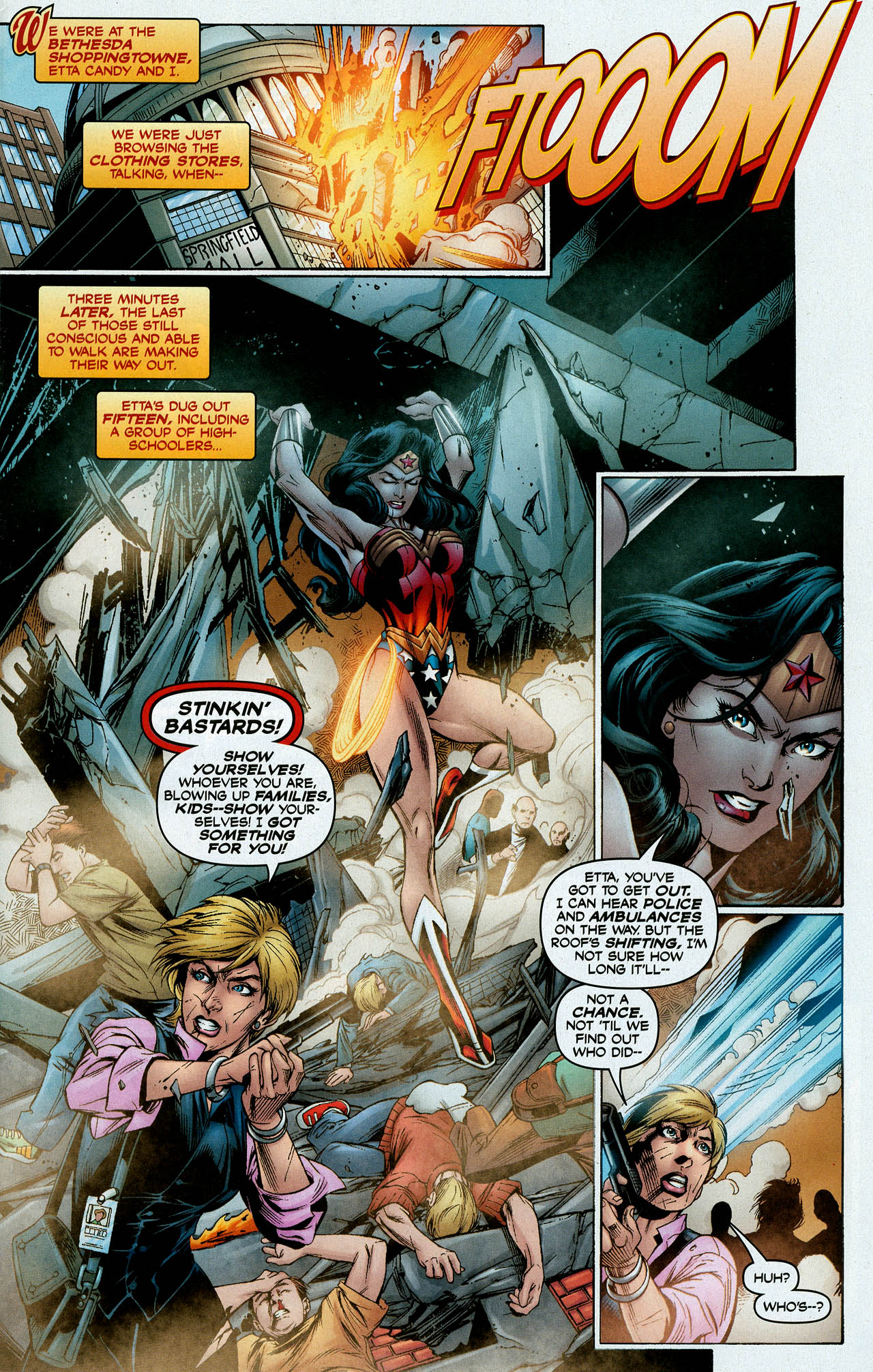 Read online Trinity (2008) comic -  Issue #9 - 3