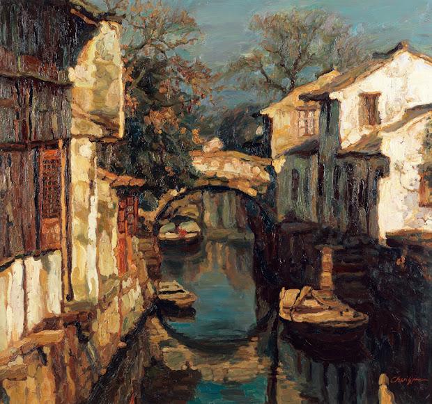 Chen Yifei Chinese Romantic Realism Painter Tutt'art Pittura Scultura Poesia Musica