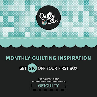 Save $10 on Your First Quilty Box!