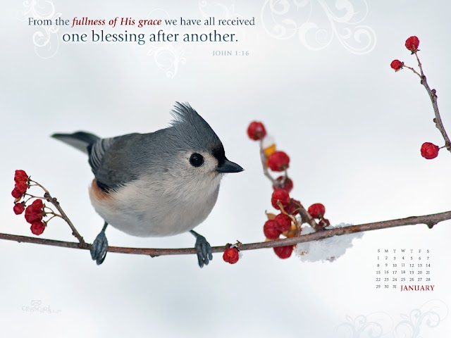 January 2012 Christian Calendar Wallpapers