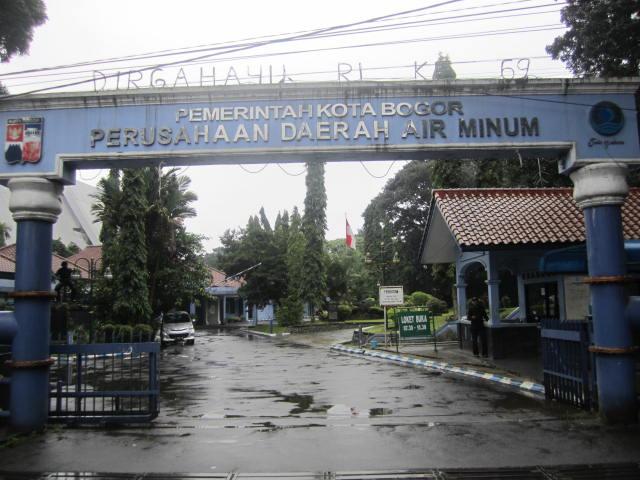 Air PDAM Tirta Pakuan Kota Bogor Belum Mengalir Normal