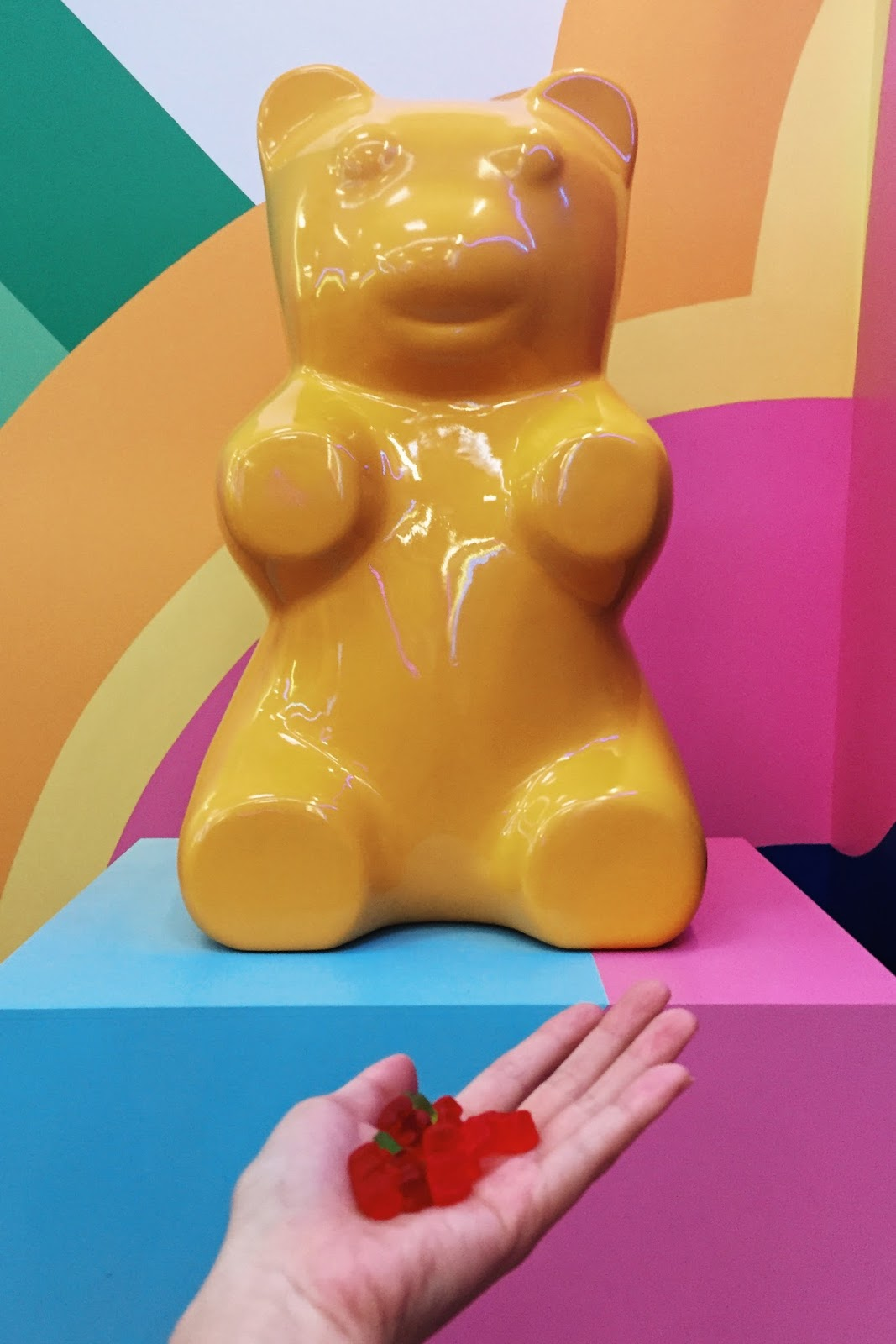 Yellow Gummy Bear at the Museum of Ice Cream_Adrienne Nguyen_Invictus