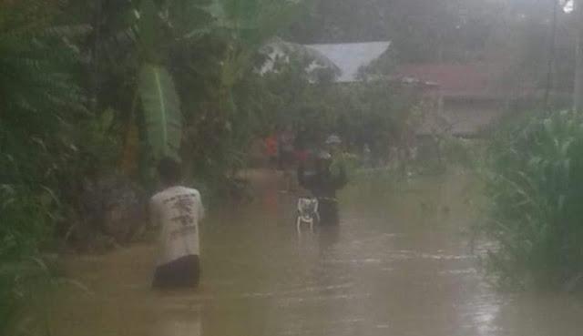 Intensitas Curah Hujan Tinggi, Jalan Kote' Jadi Langganan Banjir