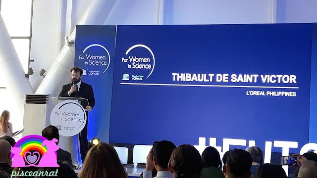 L'Oréal Philippines Managing Director, Thibault de Saint Victor.
