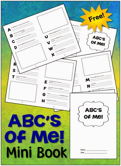 Free Mini ABC Booklets - perfect for so many different types of projects!