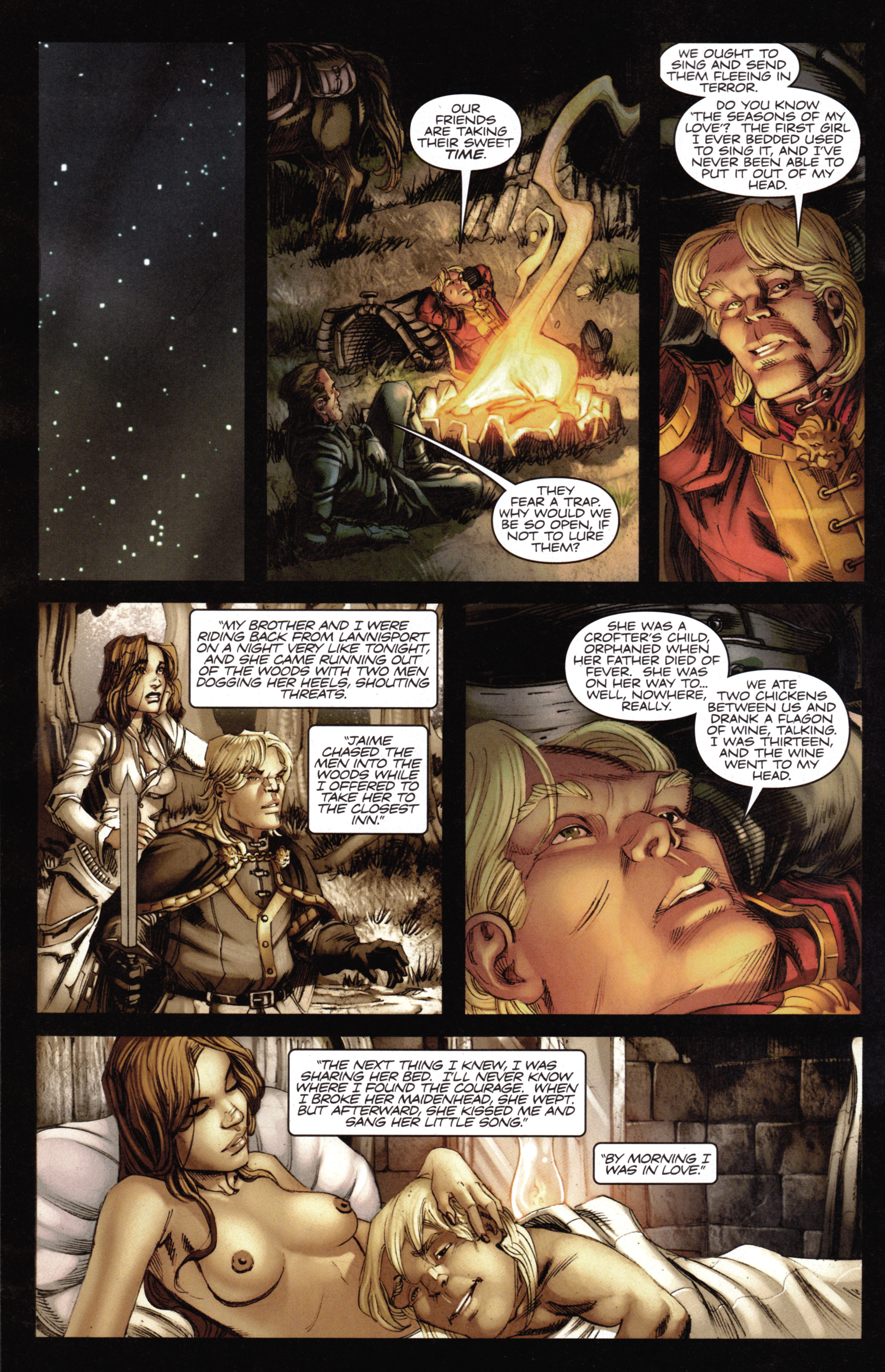 Read online A Game Of Thrones comic -  Issue #14 - 20