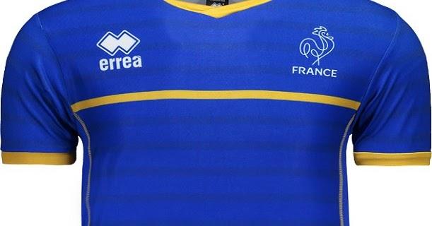 Errea lança as novas camisas da seleção de vôlei da França - Show de Camisas 4cce55c7d2b3a