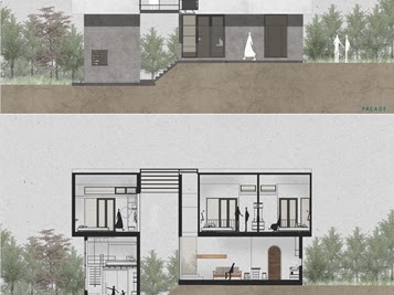 Ngôi nhà trên sườn đồi Đà Lạt với lối kiến trúc tuyệt đẹp