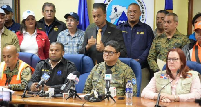 El COE informa 4,873 viviendas afectadas en todo el país por el paso de María