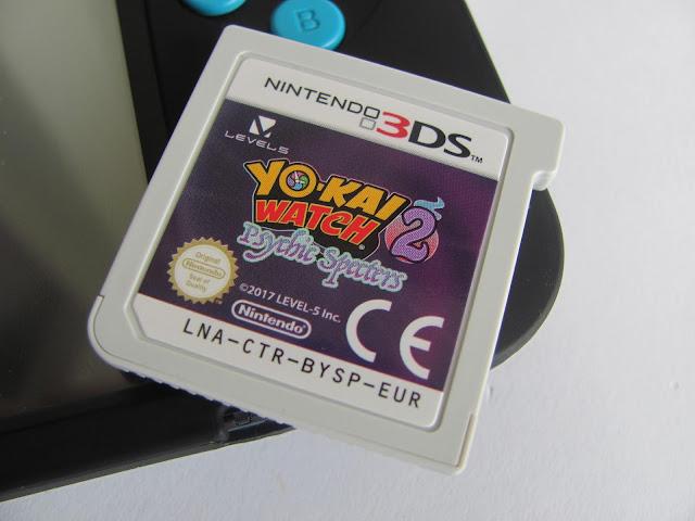 Yo Kai Watch Psychic Specters Game