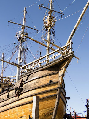 Patagonia 2 week itinerary: Replica of Magellan's ship at Museo Nao Victoria in Punta Arenas Chile