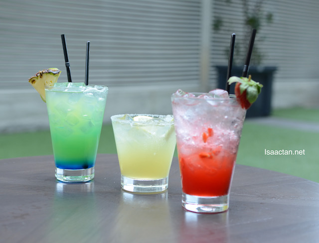 Refreshing drinks to quench your thirst while you're dining at Melur & Thyme, Gleneagles KL