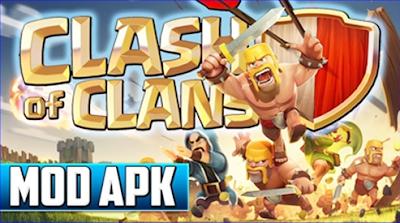 Kelebihan Clash Of Clans Mod Apk