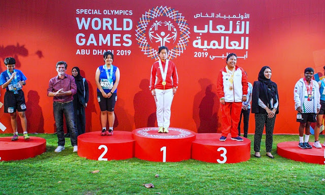 Perú logró su primera medalla de oro en las Olimpiadas Especiales Abu Dhabi 2019