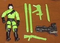 Brazil, Commandos em acao, Estrela, Cerebro, Raio Verde, Tiro Certo, G.I. Joe