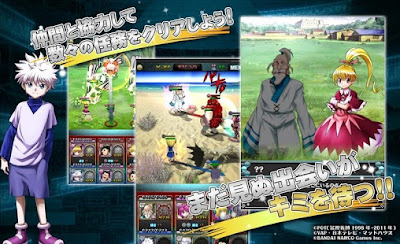 Download Hunter x Hunter Battle All Star v1.3.6 MOD Apk Latest Version Screenshot 2