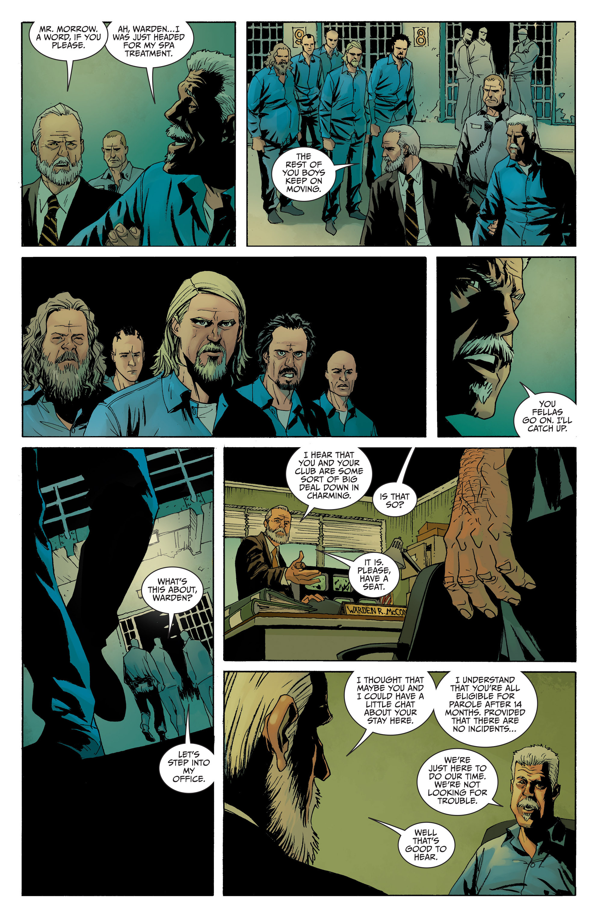 Read online Sons of Anarchy comic -  Issue #8 - 5
