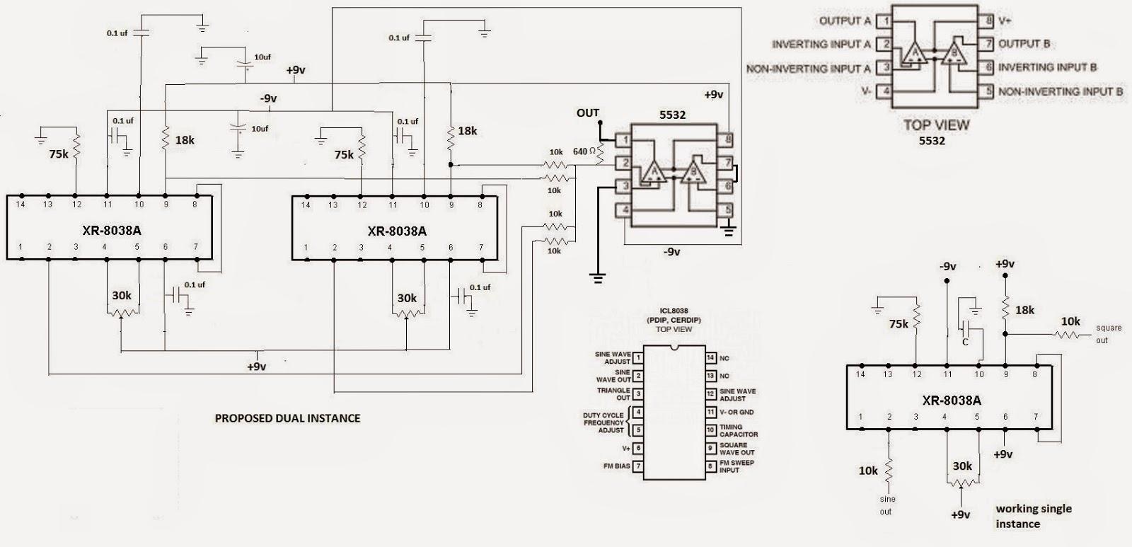 8038 fraquency signal generator circuit diagram wiring diagram