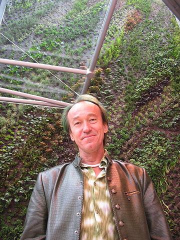 Patric Blanc Pueaux, creados de los jardines verticales a gran escala