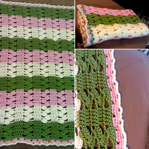 Lightweight Baby Afghan Crochet Pattern : Crochet For Children: Light & Lacy Crochet Baby Blanket ...