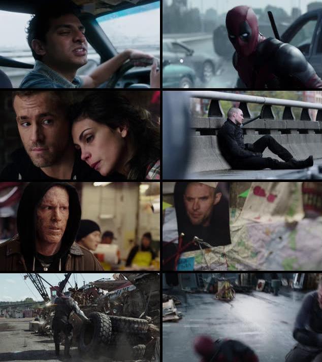 Deadpool 2016 English 480p BRRip