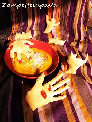 Zuppa di zucca - Ricetta primo piatto di Halloween