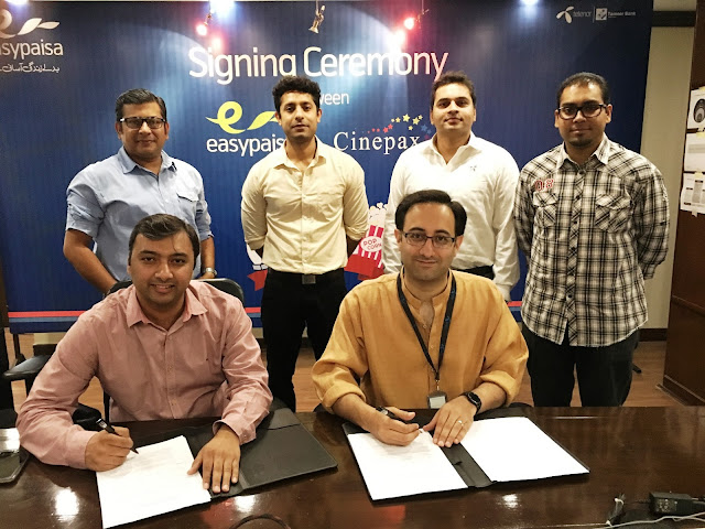 Easypaisa partners with Cinepax Cinemas