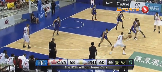 Canada 3D Global Sports def. Gilas Pilipinas, 90-77 (REPLAY VIDEO) Jones Cup 2017