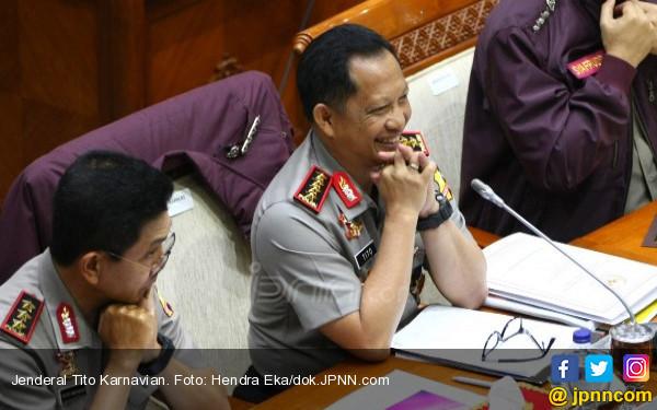 Jokowi Siapkan Jenderal Tito jadi Cawapres?