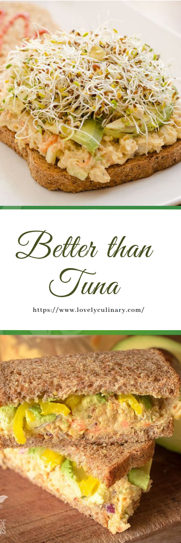 Better than Tuna #vegan #vegetarian