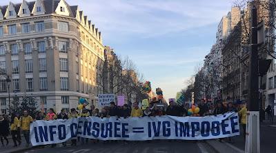 Marche pour la Vie in Paris