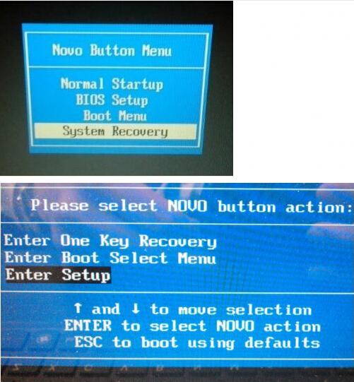 Giới thiệu về nút NOVO (Novo Botton) - máy tính xách tay Idea